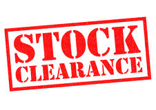 Free STOCK CLEARANCE Royalty Free Stock Images - 86703939