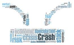 Stock crash panic Stock Photography