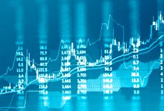 Stock data monitor business concept. Stock data monitor business financial concept royalty free stock photography