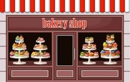 Stock de bonbons et de boulangerie Photographie stock libre de droits