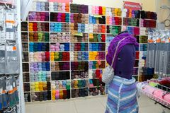 Stock de marchandises pour la créativité et la couture Image libre de droits
