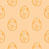 Stock  easter egg background Royalty Free Stock Images