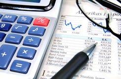 Stock Exchange Analysis Stock Photos