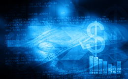 Stock exchange. Background. Financial Background Royalty Free Stock Photo