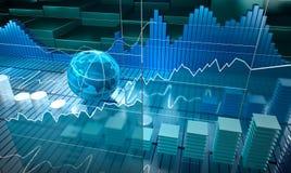 Stock exchange board Stock Image