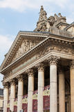 Stock Exchange or Bourse building in Brussels Stock Image
