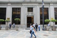 Stock exchange in Brazil Royalty Free Stock Image