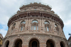 Stock exchange building in Genoa Royalty Free Stock Photography