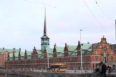 Stock exchange in Copenhagen Royalty Free Stock Photos