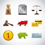 Stock exchange Royalty Free Stock Photography