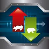 Stock exchange Stock Photos