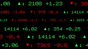 Stock Exchange Display stock illustration