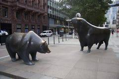 Stock exchange frankfurt Stock Photos