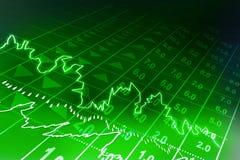 Stock exchange graph. Digital illustration of stock exchange graph Stock Photography