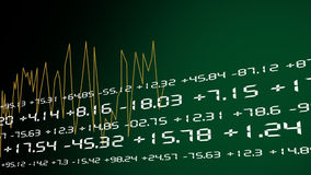 Stock Exchange Graphics stock illustration