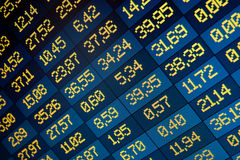 Stock exchange on-line Royalty Free Stock Photography