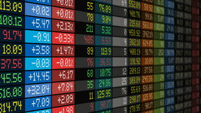 Stock exchange market business concept Stock Photography