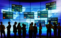 Stock Exchange Market Trading Concepts Stock Image