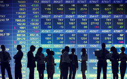 Stock Exchange Market Trading Concepts Stock Photo