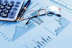 Stock exchange and markets graphic detail. Business and financial concept.Bank accounting and invest background royalty free stock photography