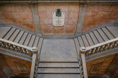 Stock Exchange Palace Stairs Stock Photography