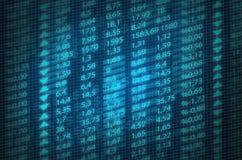 Stock Exchange Quotes Stock Image