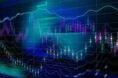 Stock exchange stock illustration