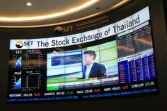 Stock Exchange of Thailand SET Royalty Free Stock Image