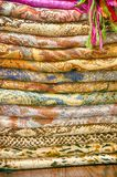 Stock of fabric Royalty Free Stock Image