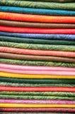 Stock of fabric. In bazaar, Istanbul, Turkey Stock Image