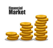 Stock financial market design. Stock and financial market design,  illustration eps10 graphic Stock Photos