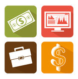 Stock financial market design. Stock and financial market design,  illustration eps10 graphic Stock Image