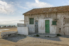 Stock fishermen. Is a former warehouse of fishermen Royalty Free Stock Photo