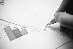 forex fluctuations Stock Image