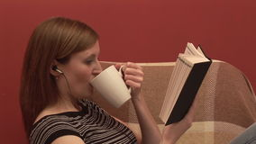 Stock Footage of a Person Relaxing Stock Photo