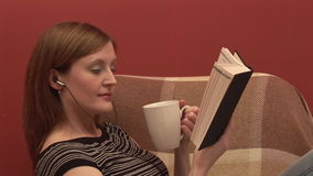 Stock Footage of a Person Relaxing Stock Images