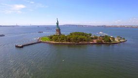 Stock footage Statue of Liberty. Statue of Liberty New York 4k uhd stock video stock video footage