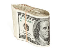 stock of hundred dollar bills Stock Photos