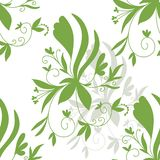 Stock Illustration Abstract Floral Seamless Pattern vector illustration