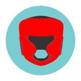 Stock illustration boxing helmet royalty free illustration