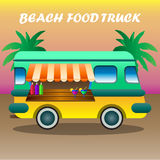 Stock Illustration Van with food stock image