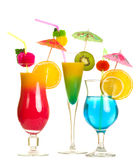 Stock image of alcohol cocktails Royalty Free Stock Images