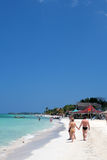 Stock image of beaches at Negril, Jamaica.  Royalty Free Stock Photo