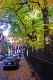 Stock image of Beacon Hill, Boston.  stock image