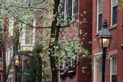 Stock image of Beacon Hill, Boston Stock Photography