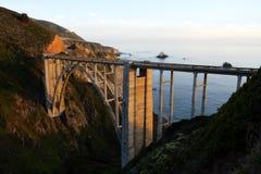 Stock image of Bixby Bridge, Big Sur, california, USA Stock Images