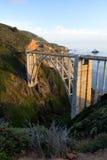 Stock image of Bixby Bridge, Big Sur, california, USA Stock Image