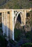 Stock image of Bixby Bridge, Big Sur, california, USA Stock Photography