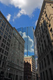 Stock image of Boston skyline Stock Image