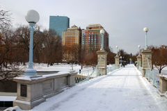 Stock image of Boston Winter Stock Images